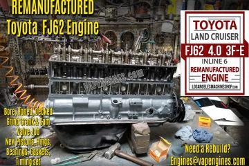 Toyota Land Cruiser FJ62 3FE 4.0 Engine Rebuild