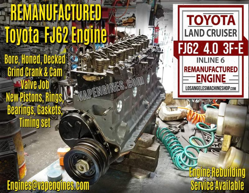 Toyota Land Cruiser FJ62 4.0 3FE Engine