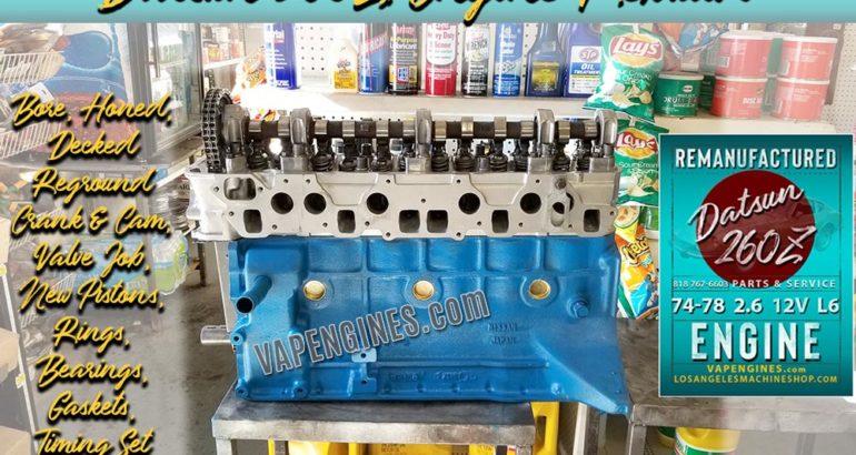 Remanufactured Nissan Datsun 260Z Engine