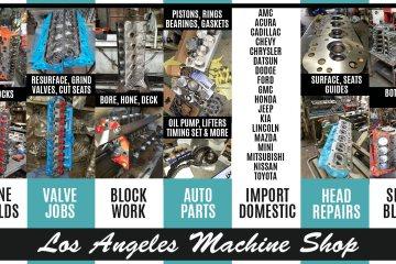 Los Angeles Engine Rebuilding Services