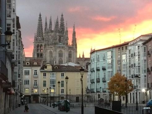 Mis vistas: Catedral de Burgos - Los Bizcochos de Carol