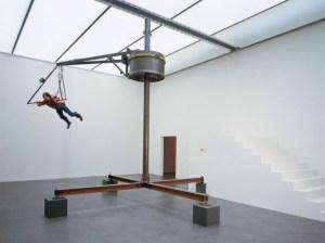 Carsten Holler , Flyng Machine Courtesy Esther Schipper, Berlino,1996 www.culturewhisper.com