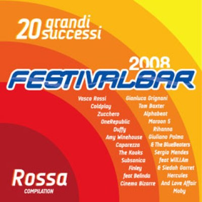 Festivalbar 2008, compilation rossa