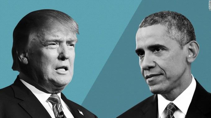 obama vs trump cop