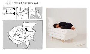 Sleepy Chair di Daisuke Motogi