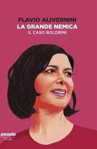 La copertina de La grande nemica, di Alivernini