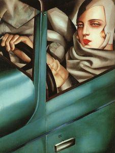 Autoritratto di Tamara de Lempicka