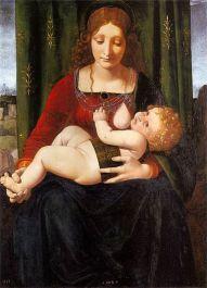Madonna con il Bambino, Boltraffio