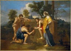 Nicolas Poussin, Et in Arcadia ego, 1637-1638