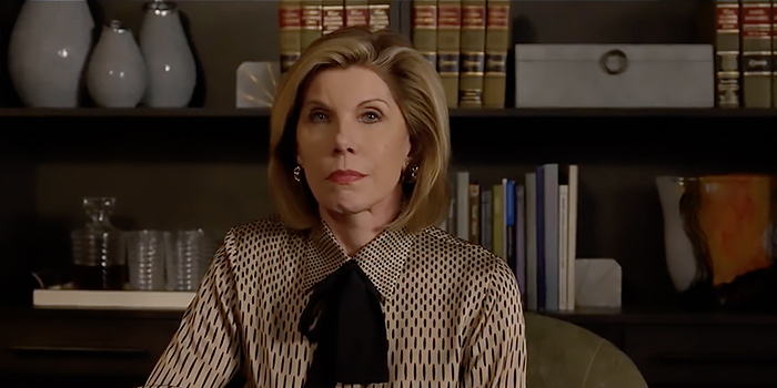 The Good Fight serie tv #MeToo