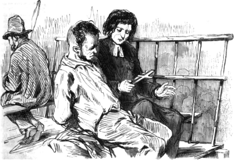 L'ultimo giorno di un condannato a morte , da un'edizione illustrata del romanzo