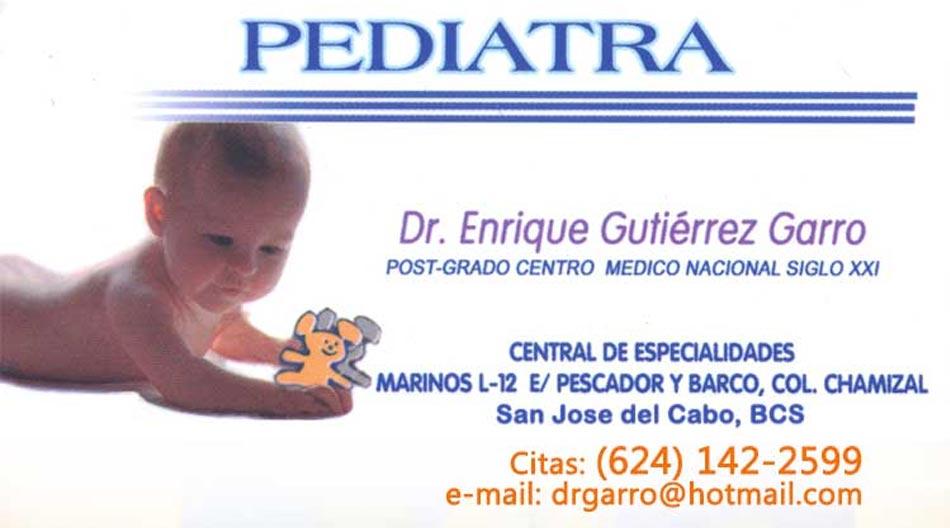 Dr Enrique Gutierrez Garro