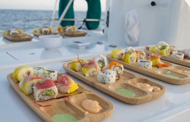 Cabo Deluxe Sailing web sushi