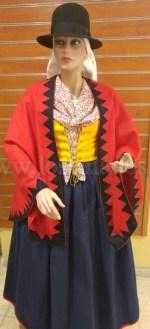Traje Mujer de Candelaria (Alfred Diston 1824)