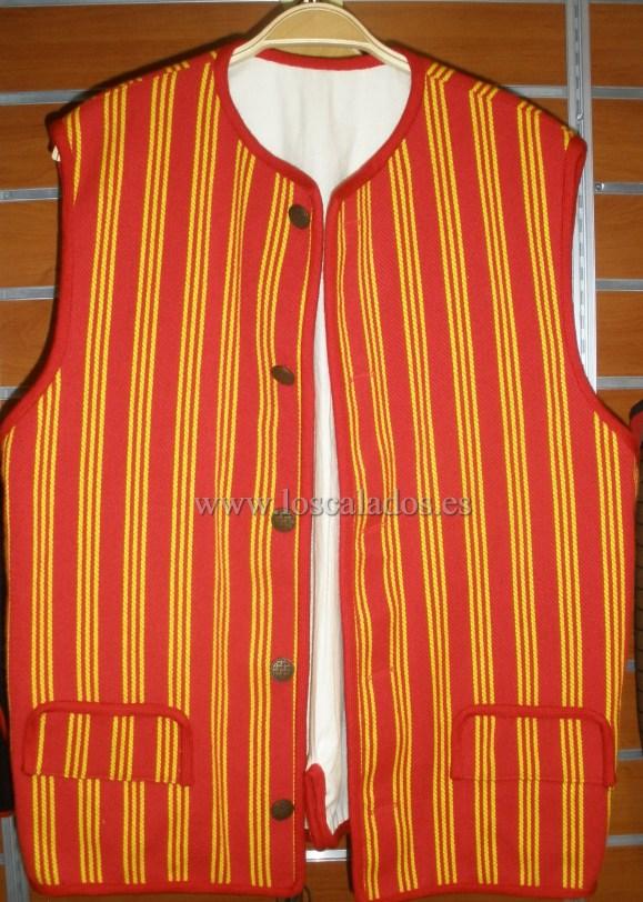 Chaleco de hombre del traje de Tegueste 1809