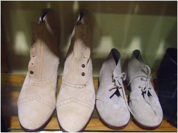 Calzado tipico modelos en piel virada