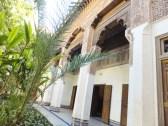 Inside the Palais de la Bahia (Bahia Palace).