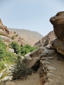 In the Atlas Mountains.
