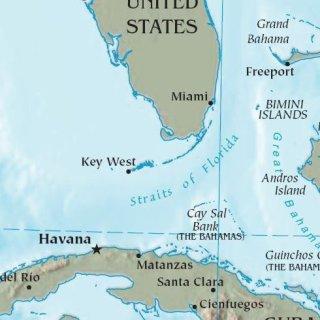 Cuba Florida Map