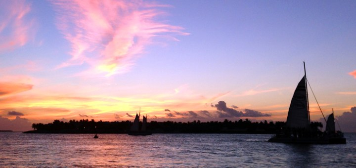 Key West Atardecer en Mallory Square