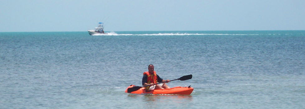 Kayak en las Playas de Key Largo