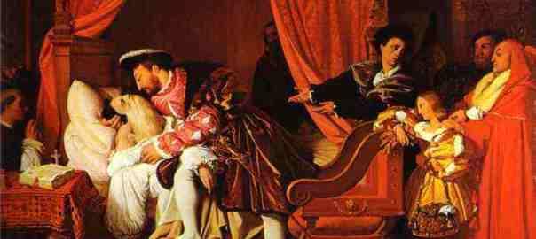 Vasari and Ingres: The Death of Leonardo