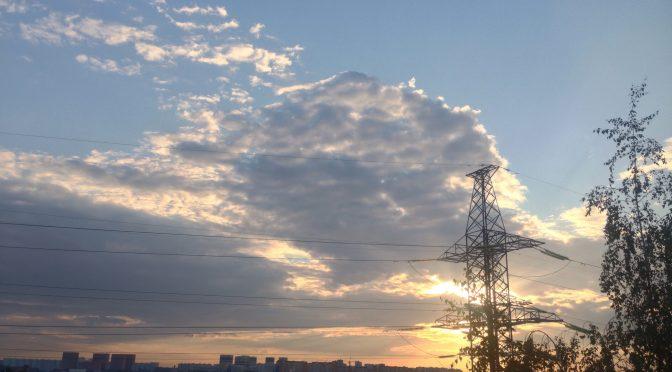 Neighbourhood Cam: Sunday Sunset