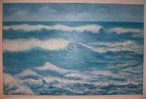 Las olas.