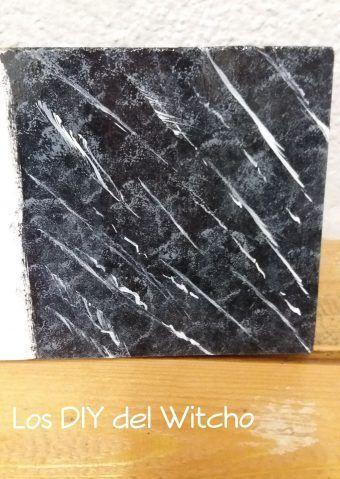 Cómo imitar el marmoleado (Técnicas de pintura 2)
