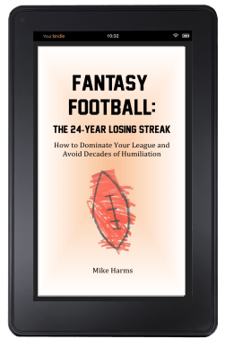 Fantasy Football The 24-Year Losing Streak Cover