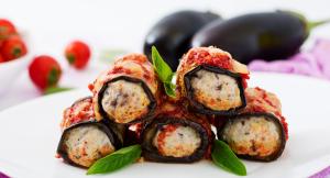 Keto eggplant roll up recipe