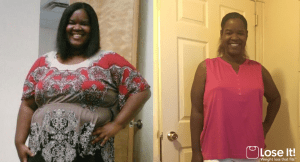 Lose It! app weight loss success story: Quiana