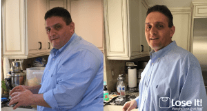 Lose It! weight loss success - Big H