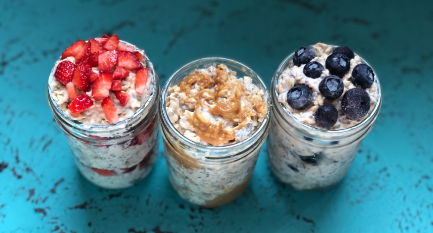 High Protein Overnight Oats 2