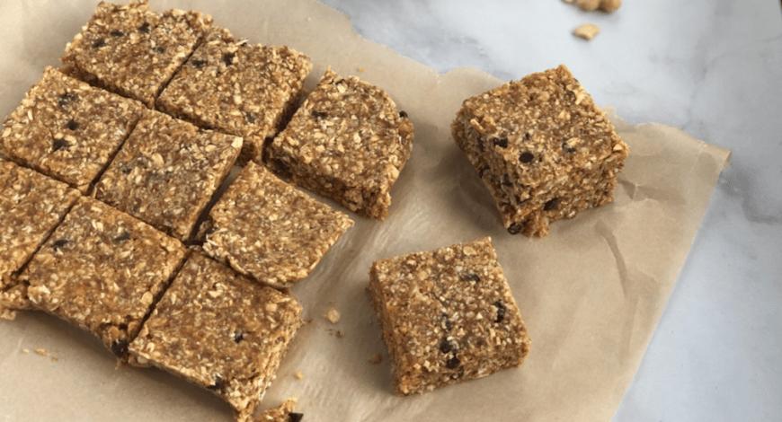 Flax seed granola bars