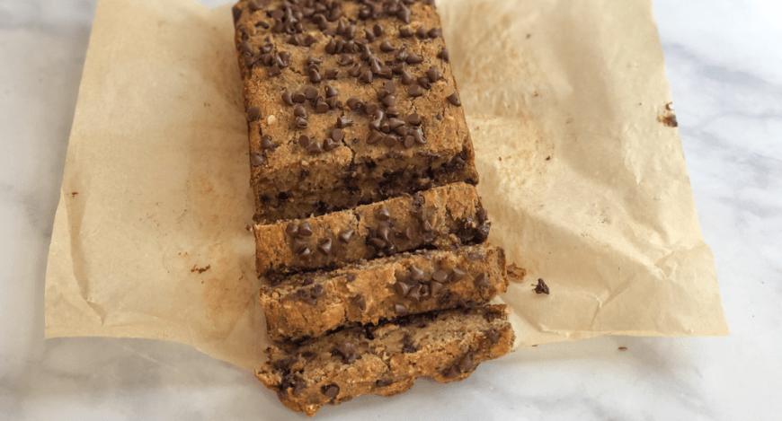 Gluten-free, vegan banana bread