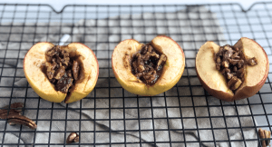 Pecan Baked Apples