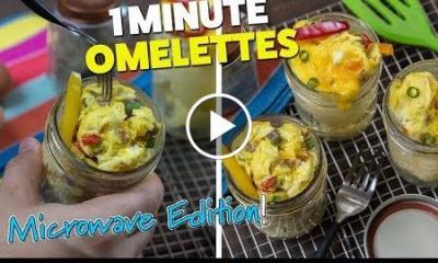 Mason Jar Omelettes