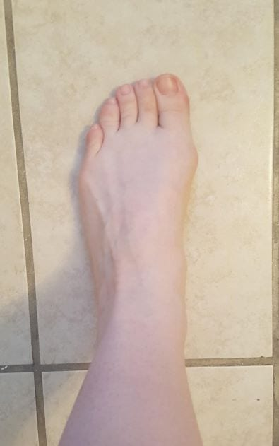 Progress Post #4 Foot