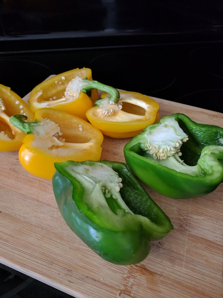 bell peppers for chili bowls