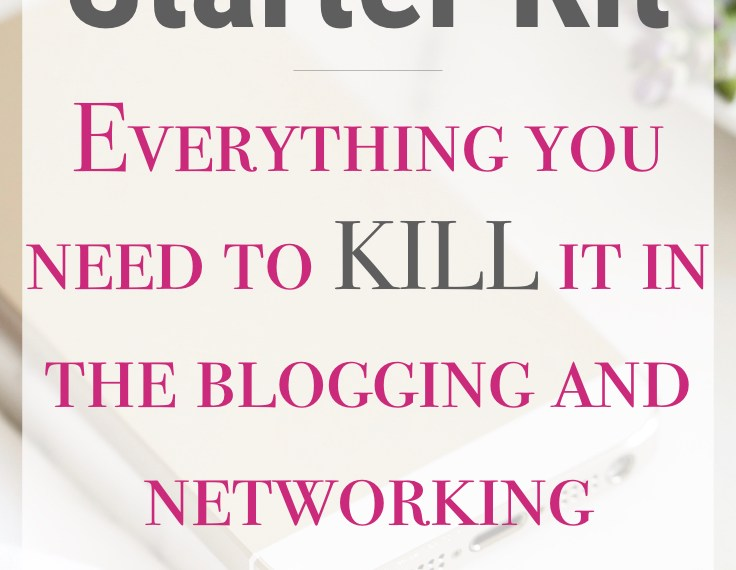 blog starter kit for new bloggers and mommy bloggers