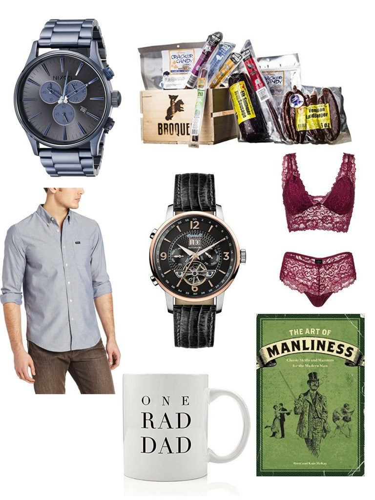 gift guide for your man on valentines day. gifts for him