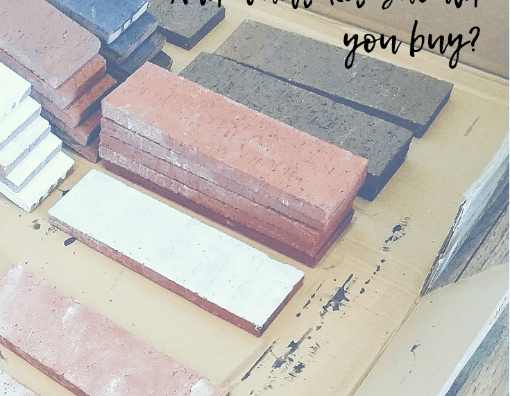 what materials should you buy to stain masonry
