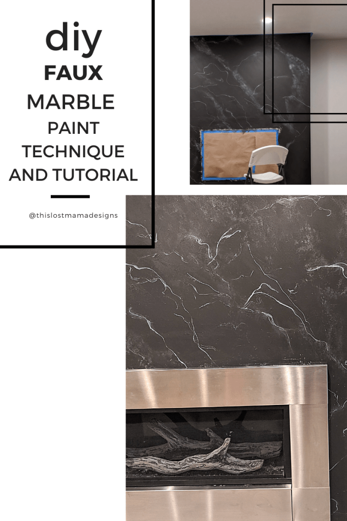 tutorial on painting faux marble