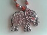 Colgante elefante de Los fieltrines de Aik