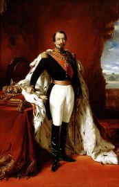 F.X. Winterhalter. Retrato del emperador Napoleón III de Francia (2ª mitad s. XIX)