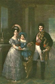 Vicente López. Retrato de la família Liñán (s. XIX)