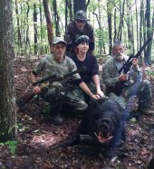 Hog hunting in Tennessee