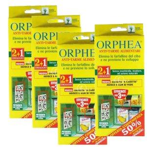 Orphea Antitarme Alimentari Multipack 4 Confezioni
