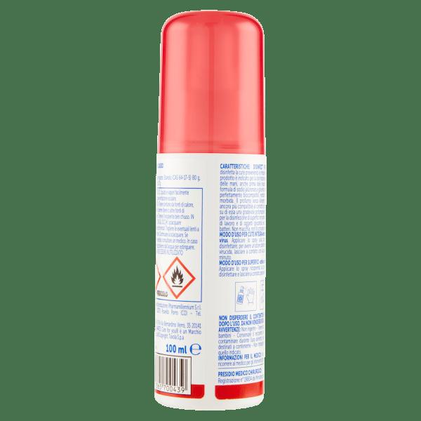 Spray Disinfettante Mani e Superfici backside